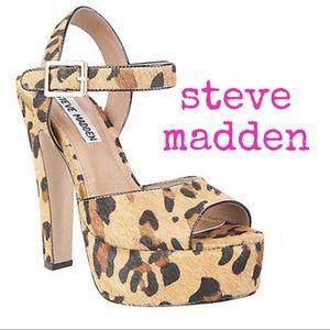 "Steve Madden ""Dynemite"" Leopard Heels"